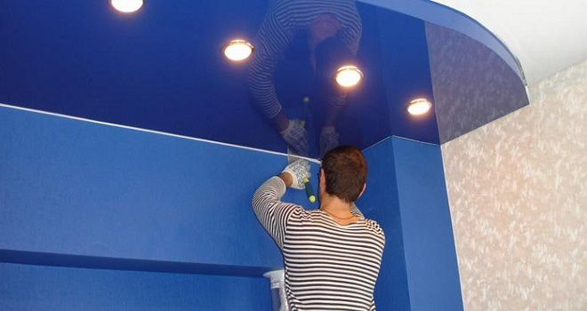 Установить подвесной потолок в Салехарде и Лабытнанги